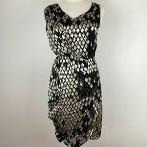 Hunt No More Womens Black Lined Dress Size 8 A10